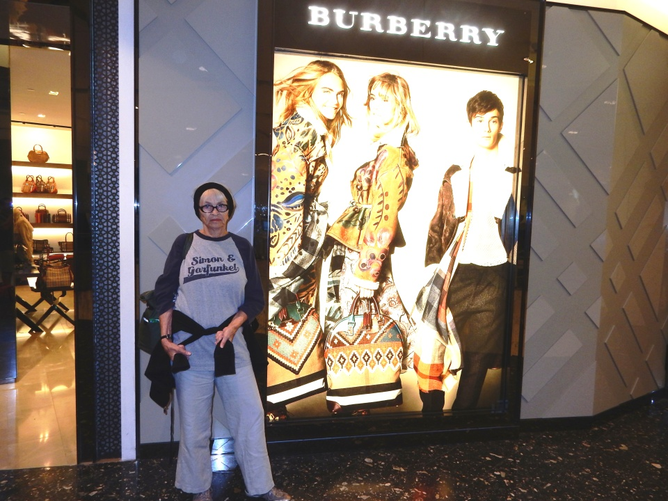 Do I seem a bit faded next to the brightness of Burberry's. The jacket I want is only $2000 plus. Maybe I should wait until my rent check clears.