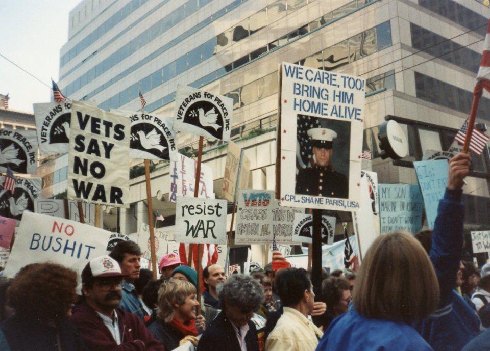 Best anti-war march.