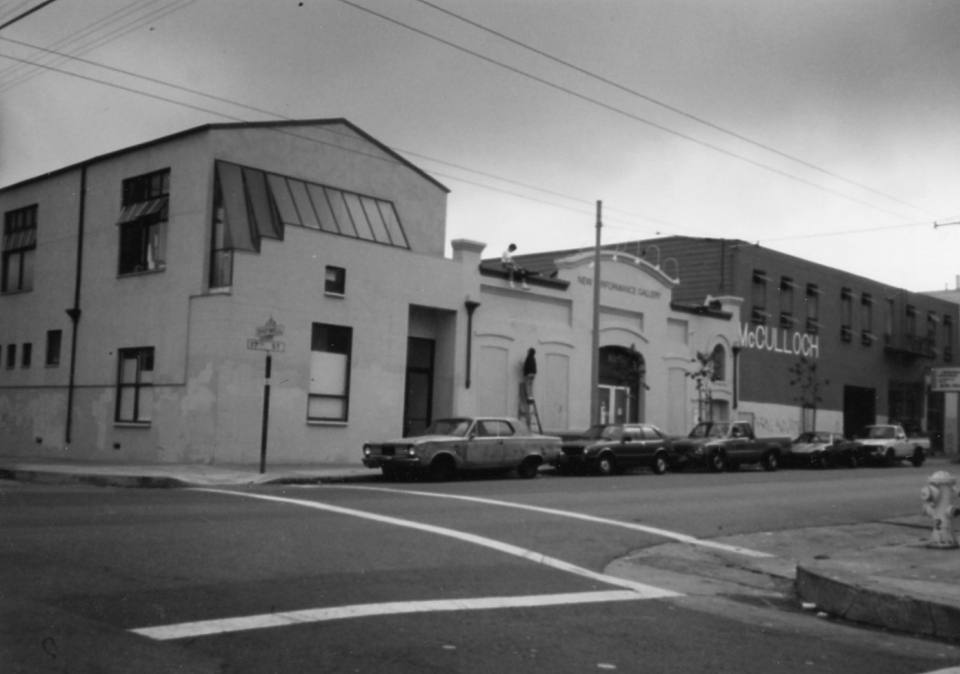 The OLD New Performance Gallery on Shotwell in the Mission.