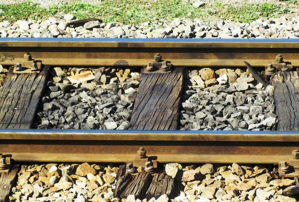 In Romania but a railroad track is a railroad track is a railroad track...