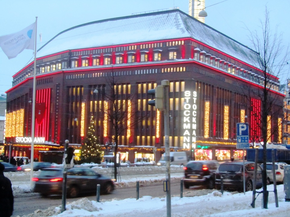 Stockman's, one of the best department stores ever. Helsinki.