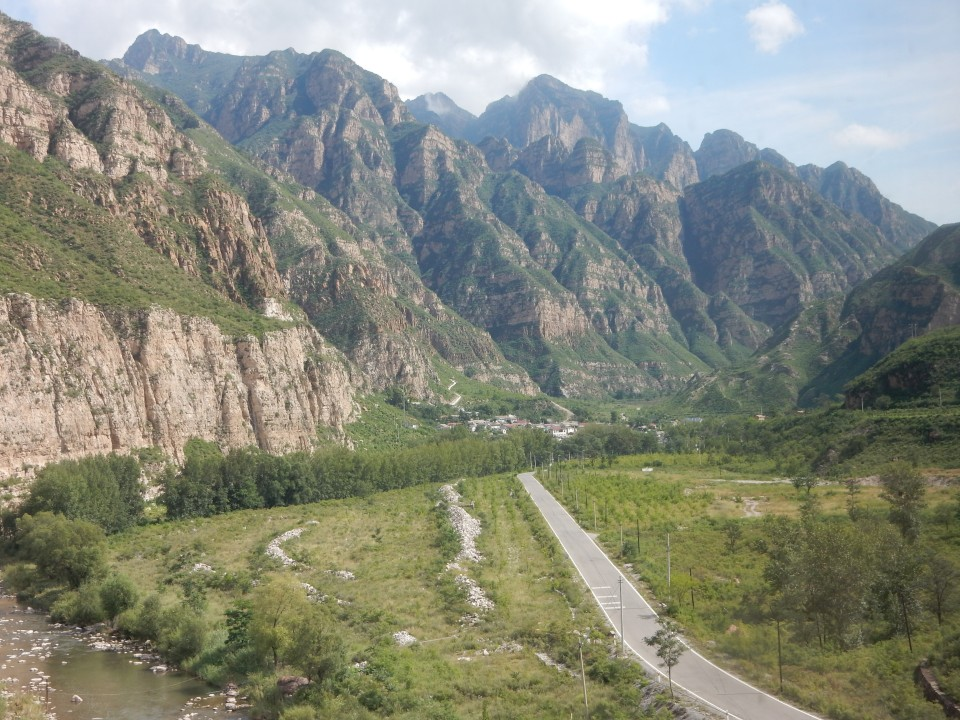 BEST I COULD DO...ROAD TO A CHINESE VILLAGE.