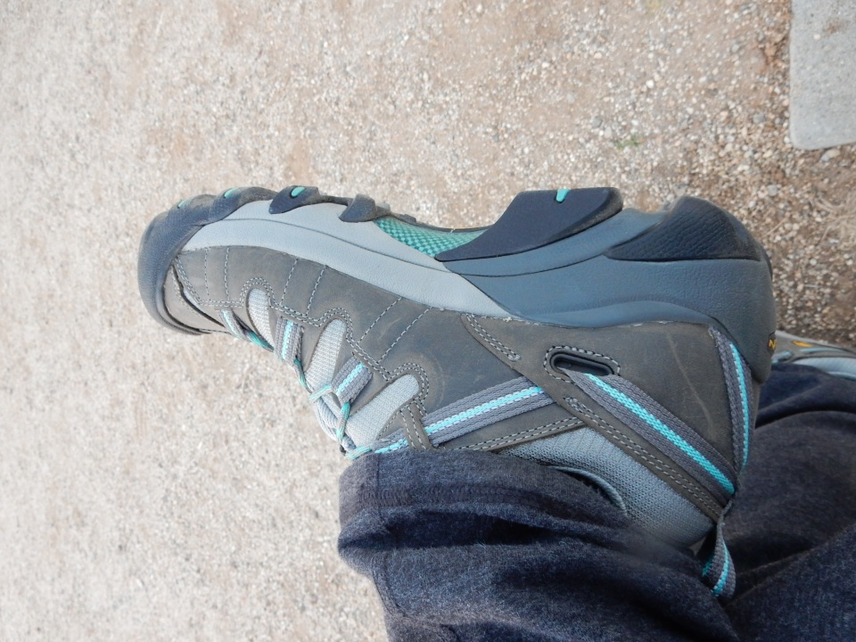 MY NEW TREKKING SHOES FOR GREENLAND