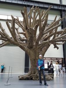 A TREE BY MY FAVORITE ARTIST, AI WEIWEI.